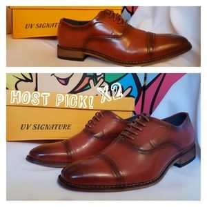 Signature Smooth & Clean Cap Toe Oxfords Size 9.5